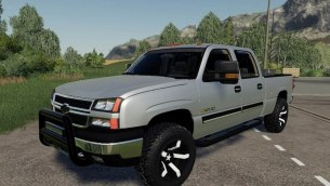 Мод «2005 Chevrolet 2500HD 6.0L» для Farming Simulator 2019