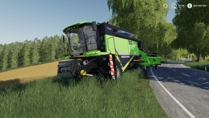 Мод «Deutz-Fahr HTS 6095» для Farming Simulator 2019