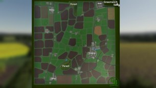 Карта «Greenwich Valley» для Farming Simulator 2019