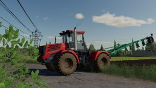 Мод «K744 Р4 Премиум» для Farming Simulator 2019
