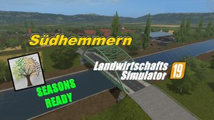 Карта «Зюдхеммерн» для Farming Simulator 2019