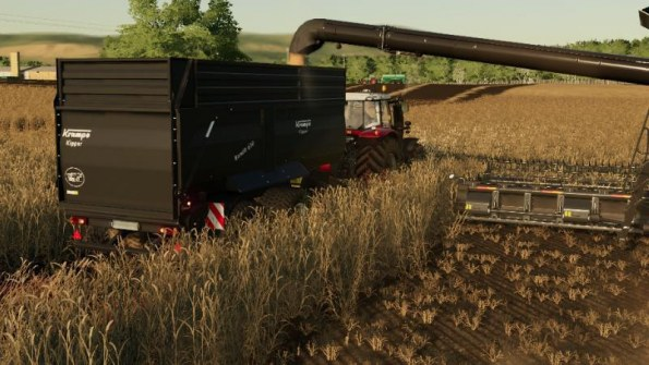 Мод «Krampe Bandit 650» для Farming Simulator 2019