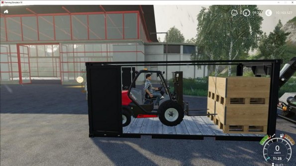 Мод «Manitou MC18 Container Edition» для Farming Simulator 2019