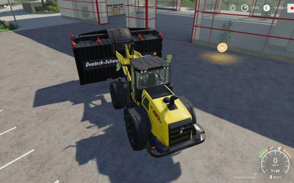 Мод «ATC ContainerHandling Pack» для Farming Simulator 2019