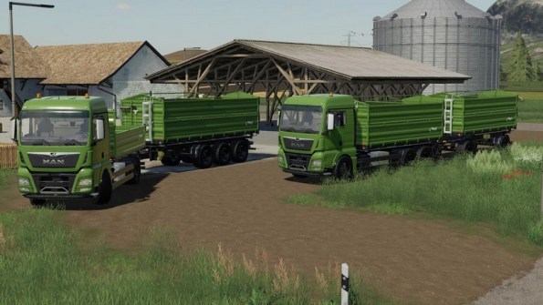 Мод «Transporte de Fliegl Pack» для Farming Simulator 2019