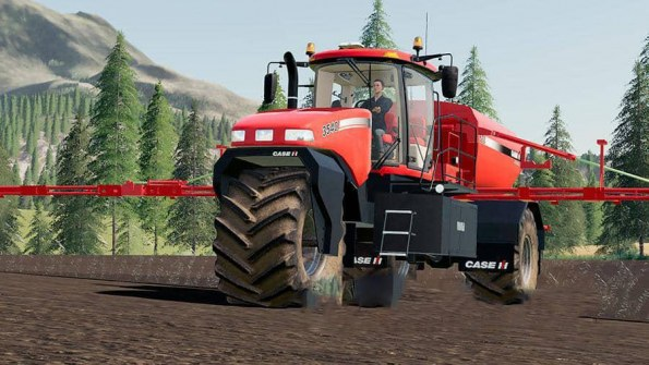 Мод «Case IH Titan 3540 Self-Propelled Spreader» для FS 2019