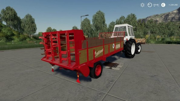 Мод «Krone Optimat 4-4.5 Tonner» для Farming Simulator 2019