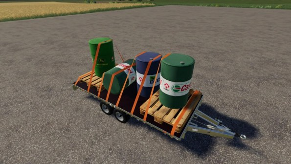 Мод «500l Diesel barrel Pack» для Farming Simulator 2019