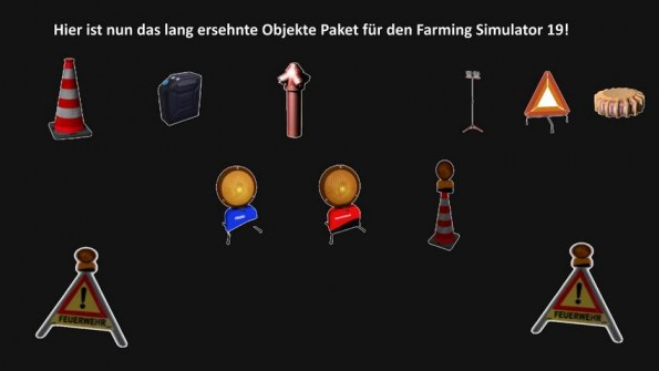 Мод «Pack objects FFW» для Farming Simulator 2019
