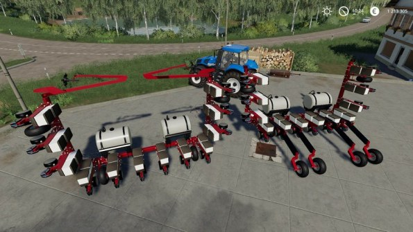 Мод «Case 12 Row Planter» для Farming Simulator 2019