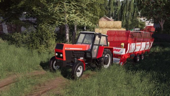Мод «Ursus 1212» для Farming Simulator 2019