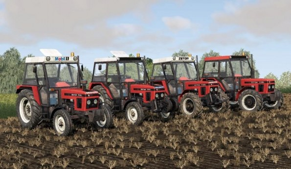 Мод «Zetor 77 Series Pack» для Farming Simulator 2019