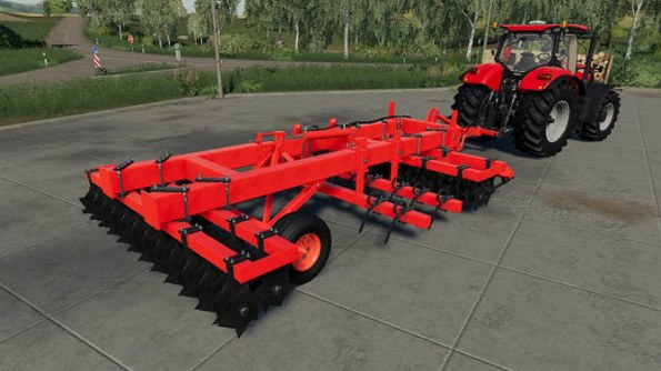 Мод «Rau M402 Disc Harrow» для Farming Simulator 2019