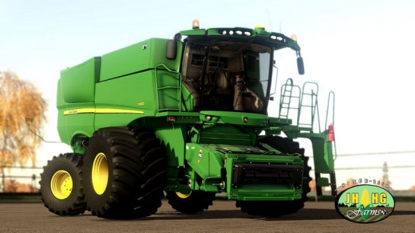 Мод «John Deere S600» для Farming Simulator 2019