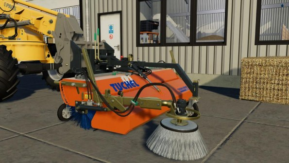Мод «Tuchel-Sweep PLUS 590» для Farming Simulator 2019