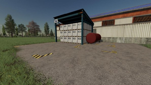 Мод «Palett Storage Pack» для Farming Simulator 2019