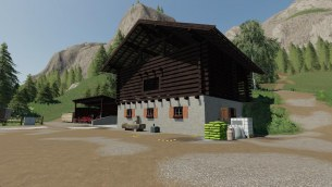 Мод «Tyrolean Farm - Buildings» для Farming Simulator 2019