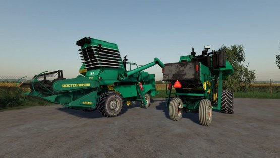 Мод комбайн «СК-5 Нива» для Farming Simulator 2019