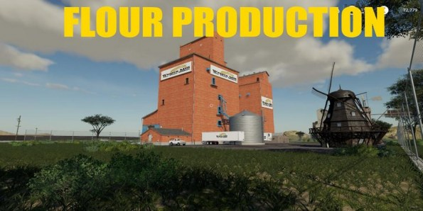 Мод «Flour Production» для Farming Simulator 2019