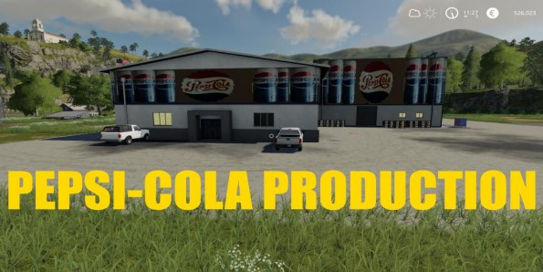 Мод «PepsiCola Production» для Farming Simulator 2019