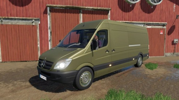Мод «Mercedes Sprinter» для Farming Simulator 2019