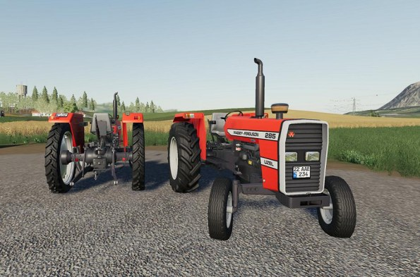 Мод «Massey Ferguson 285S» для Farming Simulator 2019