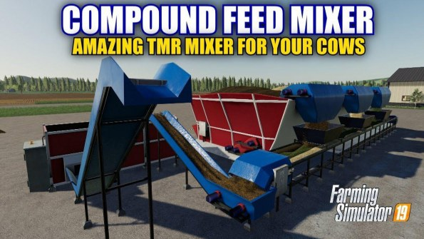 Мод «Cow Feed Mixer G2-456» для Farming Simulator 2019