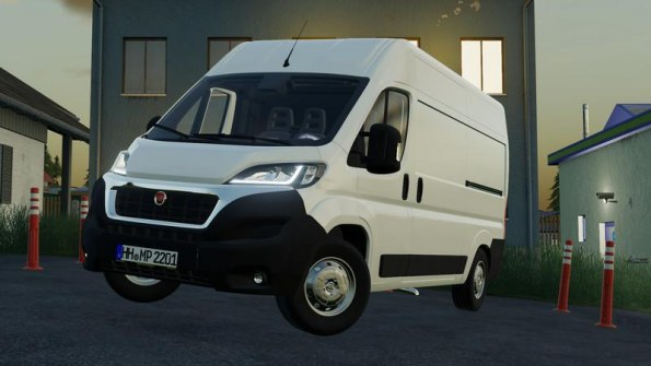 Мод «Fiat Ducato 2014» для Farming Simulator 2019
