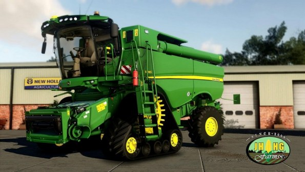 Мод «John Deere S700i Series European & North/South America» для FS 19