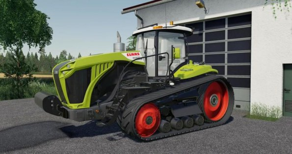 Мод «Claas Xerion with tracks» для Farming Simulator 2019