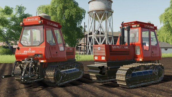 Мод «New Holland 180-55» для Farming Simulator 2019