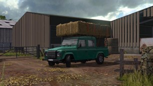 Мод «Land Rover Defender 110» для Farming Simulator 2017