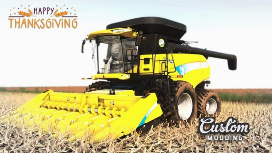 Мод «New Holland CR9000» для Farming Simulator 2019