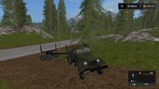 Мод «ЗИС-151» для Farming Simulator 2017