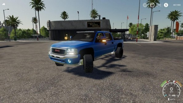 Мод «2005 GMC Sierra LB7 Duramax» для Farming Simulator 2019