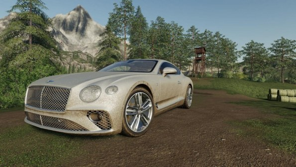 Мод «Bentley Continental GT 2018» для Farming Simulator 2019