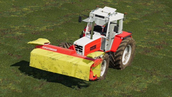 Мод «Pottinger NOVAALPIN Front Mower» для Farming Simulator 2019