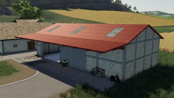 Мод «Grain Storage» для Farming Simulator 2019