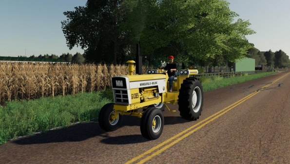 Мод «Mineapolis Moline G1355» для Farming Simulator 2019