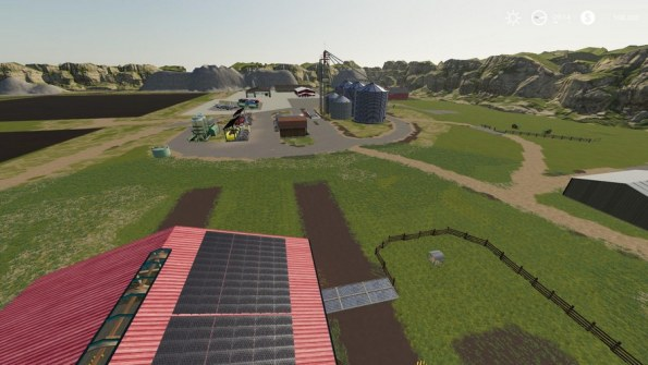 Карта «Peasantville 2 8X Production» для Farming Simulator 2019
