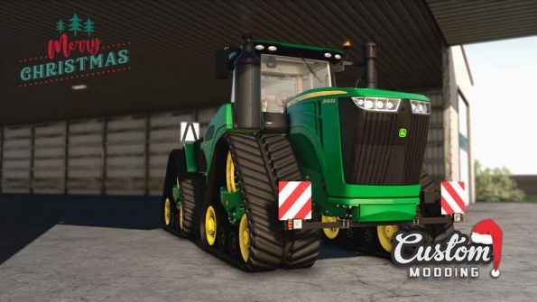 Мод «John Deere 9RX North American and Europe» для FS 2019