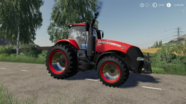 Мод «Case Magnum Series» для Farming Simulator 2019