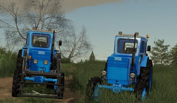 Мод «ЛТЗ Т-40АМ» для Farming Simulator 2019