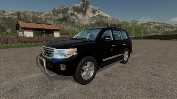 Мод «Toyota Land Cruiser 200» для Farming Simulator 2019