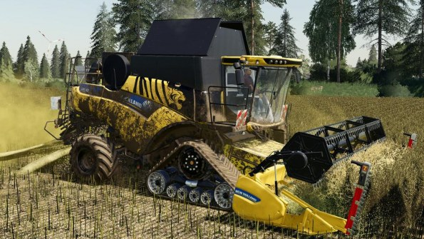 Мод «New Holland CR 6.90» для Farming Simulator 2019