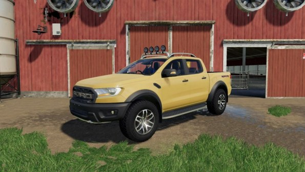 Мод «Ford Ranger Raptor 2019» для Farming Simulator 19