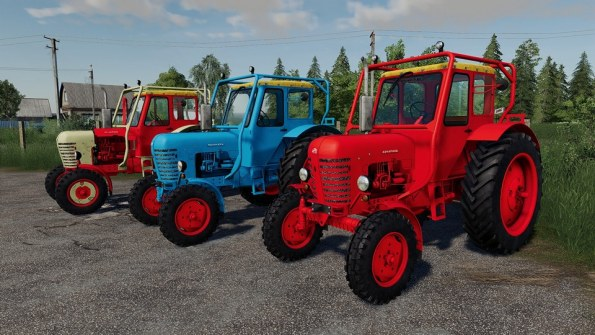 Мод «МТЗ-50 Edited» для Farming Simulator 2019
