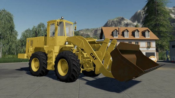 Мод «1989 Cat Loader Pack» для Farming Simulator 2019