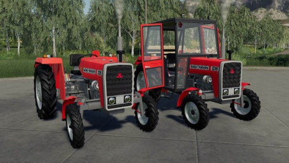 Мод «Massey Ferguson Polish Pack» для Farming Simulator 2019