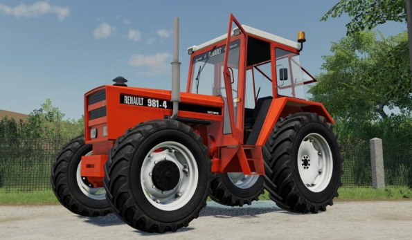 Мод «Renault 981-4» для Farming Simulator 2019